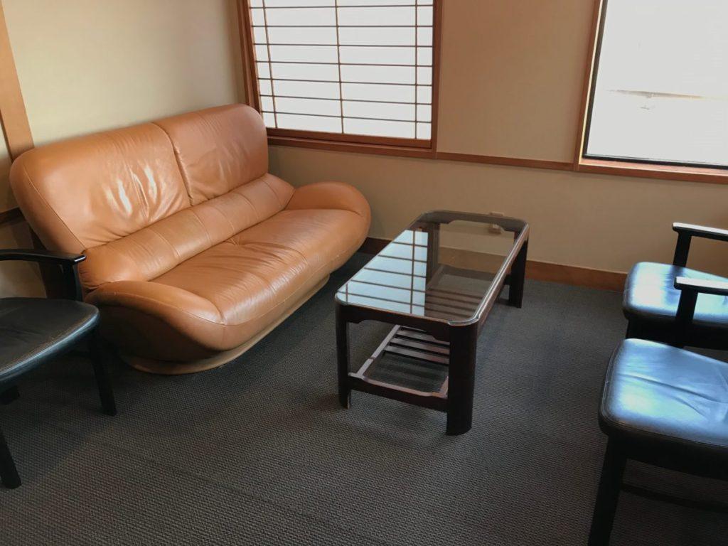 6Fの休憩スペース