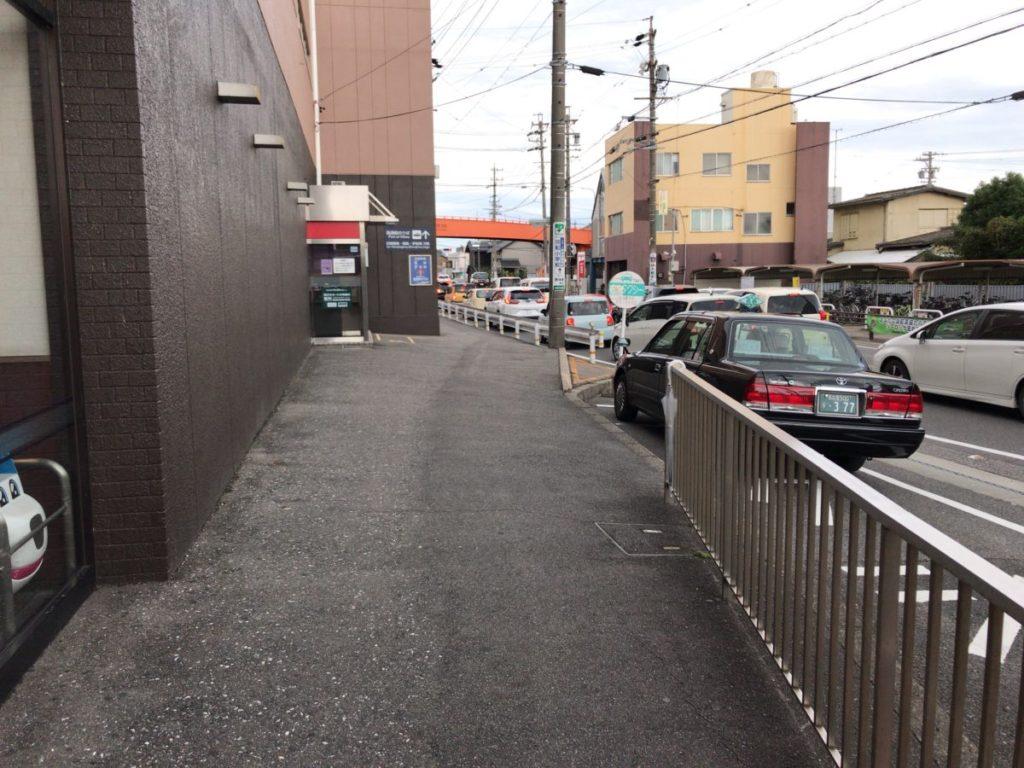 河和駅のタクシー乗り場