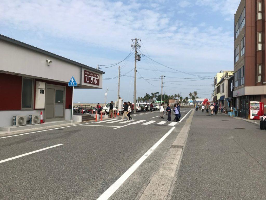 日間賀島の西港