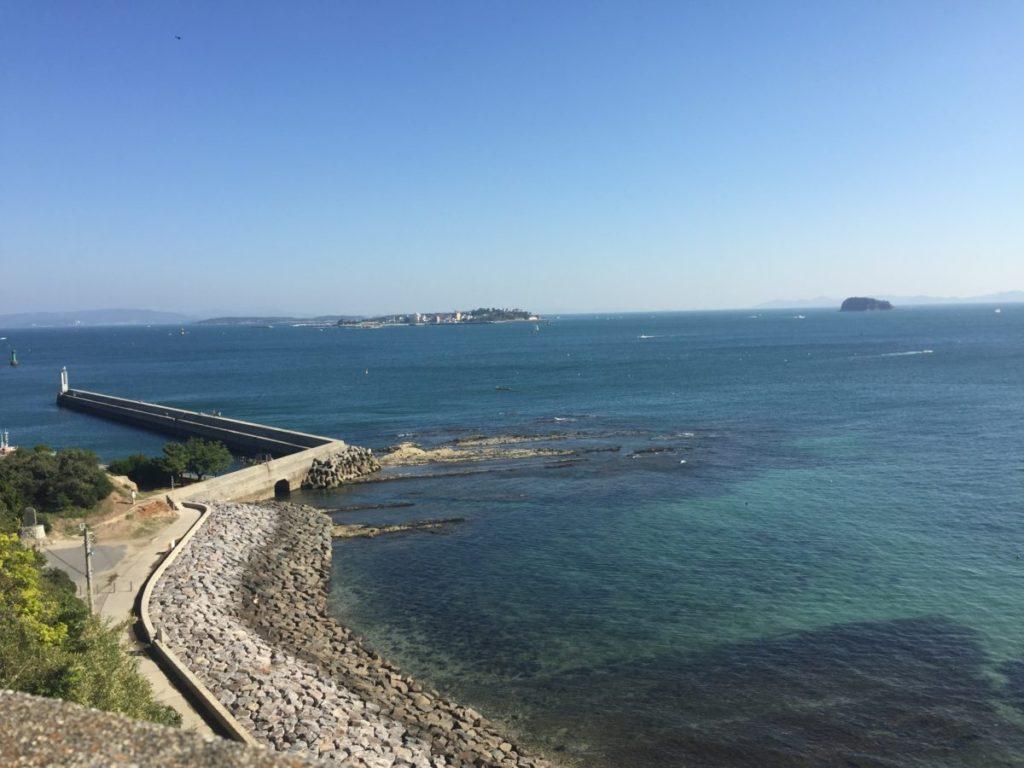 羽豆岬から撮った風景