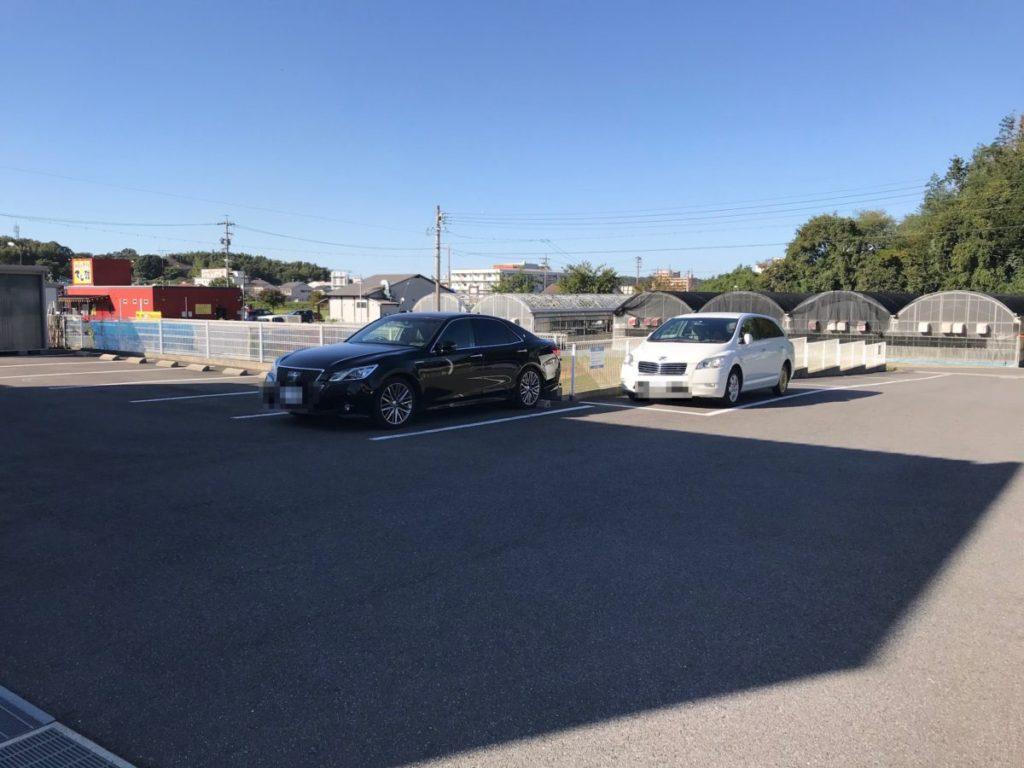 LUSH WASH CAFEの駐車場