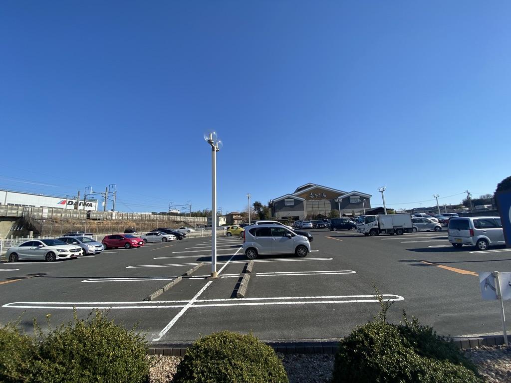 喜多の湯の駐車場