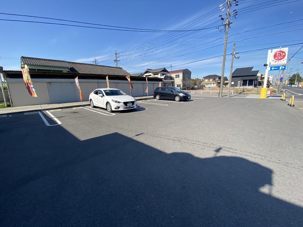 有楽タンメンの駐車場